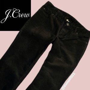 J. Crew Brown Favorite Fit Bootcut Corduroy Pants